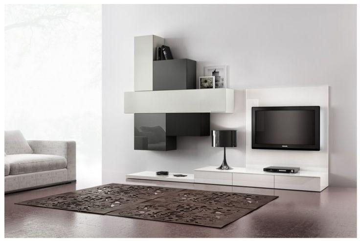 17 migliori idee su parete tv moderna su pinterest tv a - Parete tv moderna ...