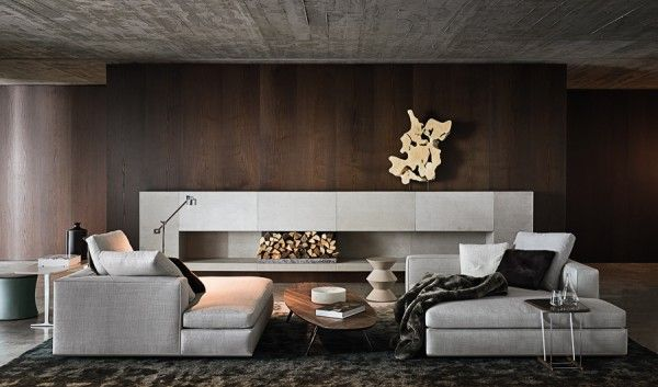 A beautiful fireplace that would look great with an electric insert.