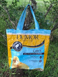 Create Kids Couture: Reversible Chicken Feed Tote Bag