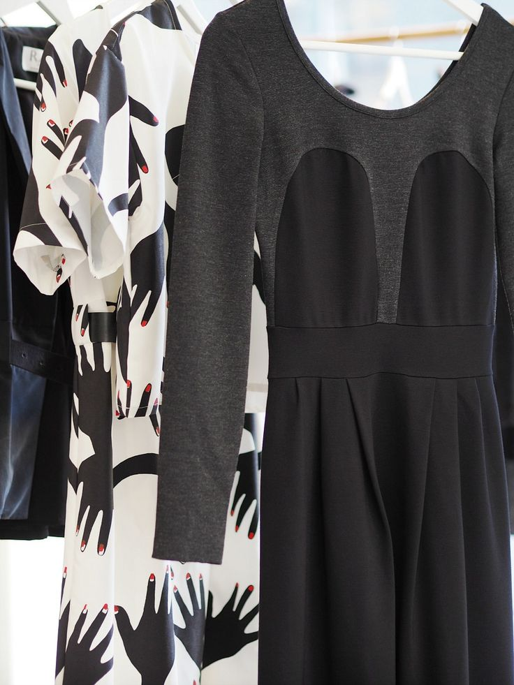 Dresses from R/H AW2015 collection Black Waves