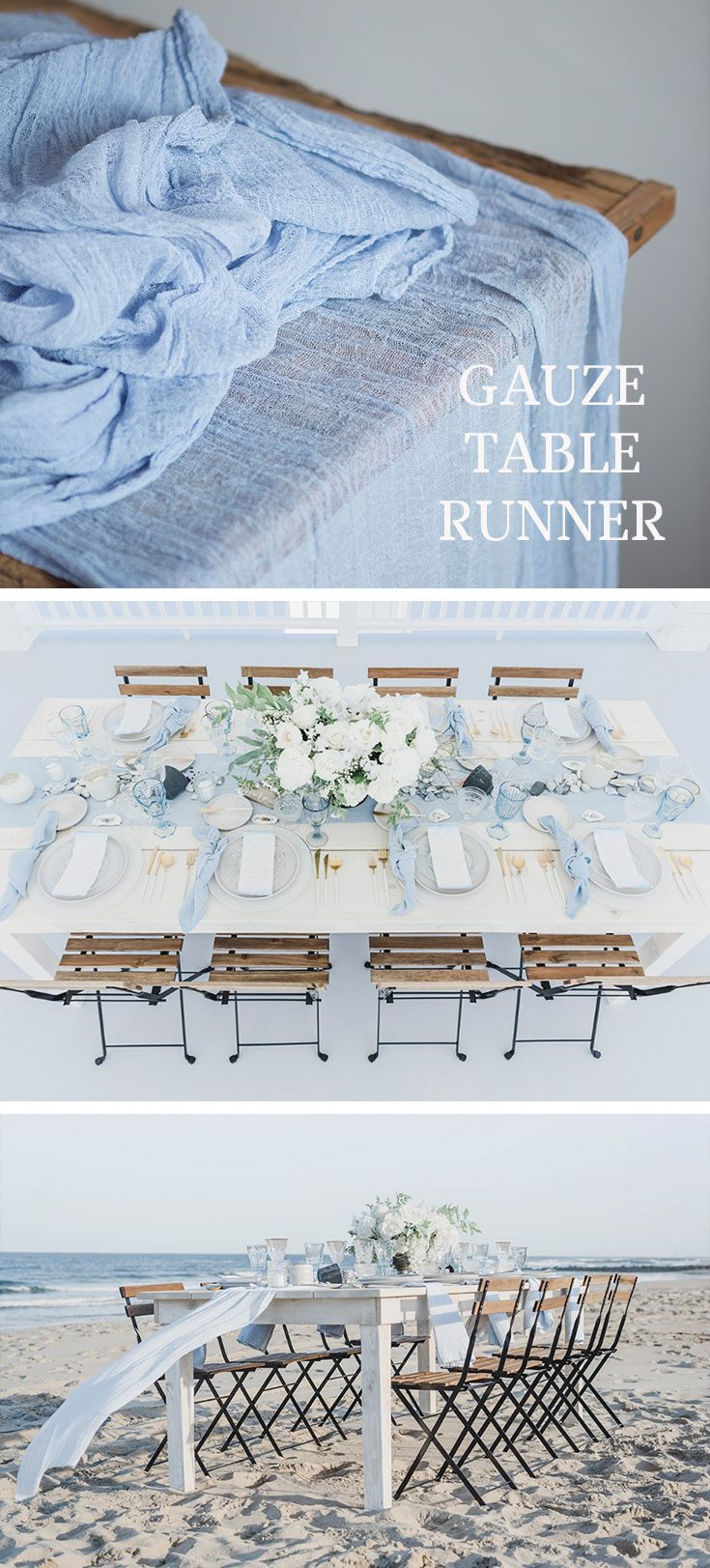 Gauze Table Runner Rustic Wedding Centerpiece Cheesecloth Table Runner Boho Wedding Gauz Rustic Chic Wedding Rustic Wedding Centerpieces Rustic Country Wedding