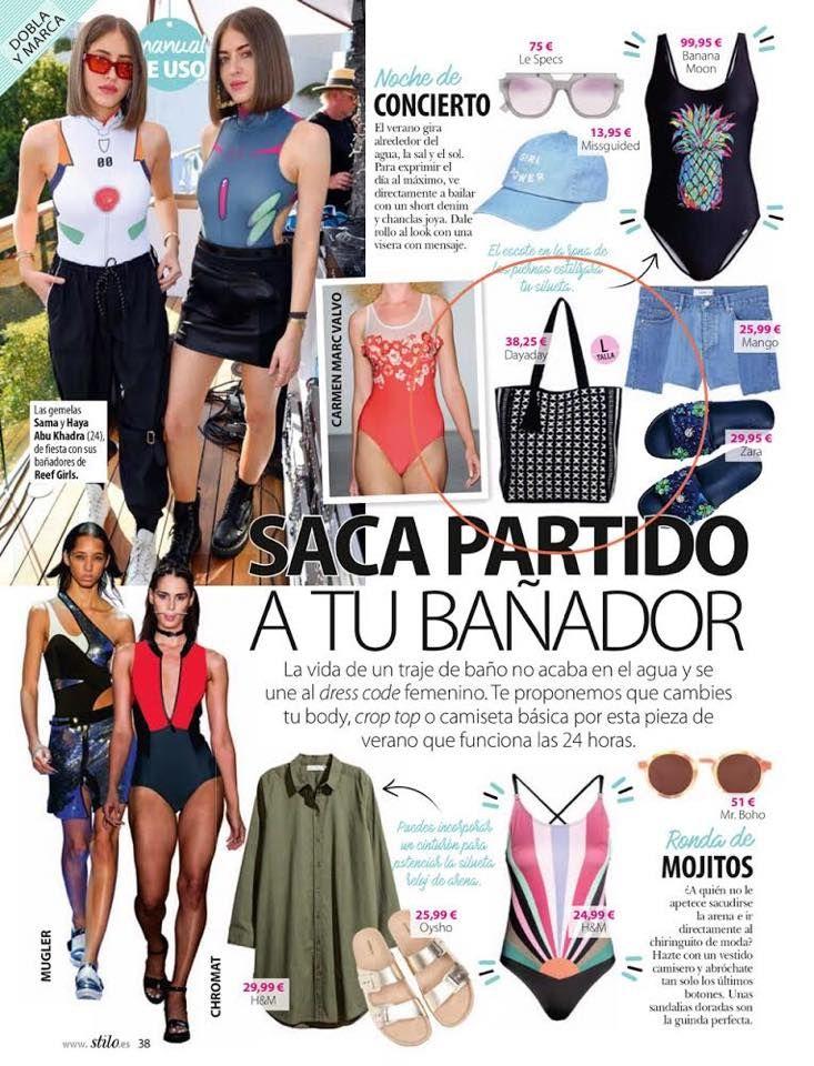 Muchas gracias revista Stilo por destacar nuestro shopper QUITO en el número de agosto ❤️
