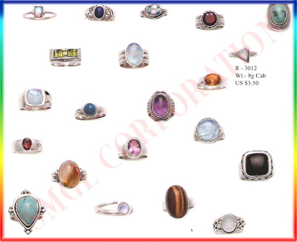 sterling silver rings, wholesale jewellery  gemstones, tribal jewellery India