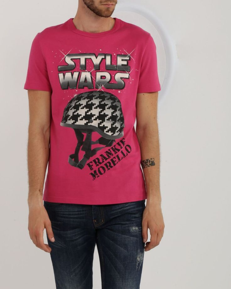 T-SHIRT IN JERSEY Frankie Morello