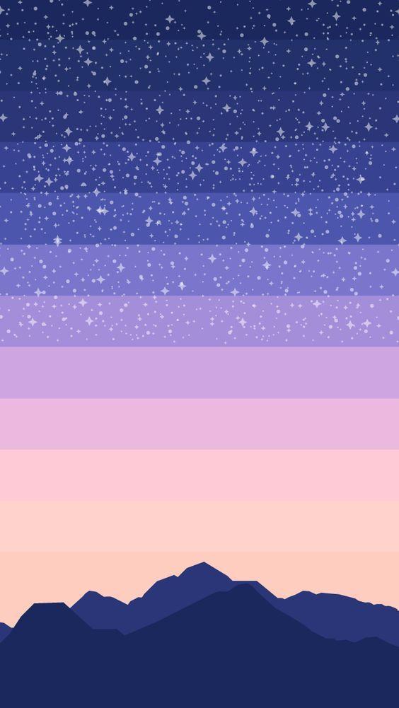 Wallpaper céu estrelado