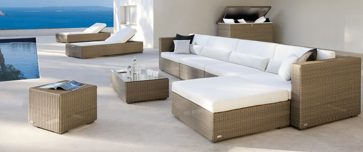 Aspen Range Modular All-Weather Comfort also available in Off-White