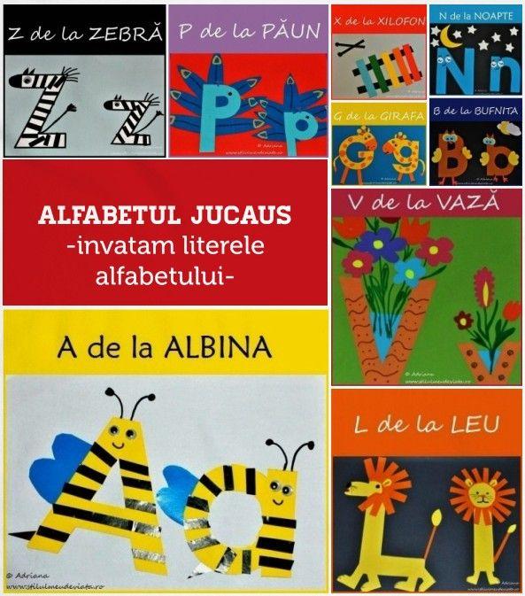 Aşa cum am mai spus de mai multe ori aici pe blog, am încercat să transform învăţarea literelor alfabetului într-o activitate cât mai plăcută pentru fetiţa mea. Astfel, pentru fiecare literă a alfabetului am...