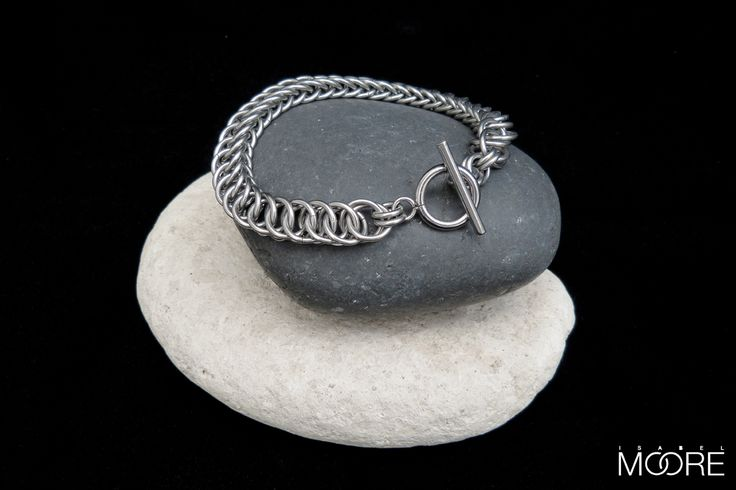 Luna Bracelet handmade from Stainless Steel http://isabelmoore.com/products/luna-bracelet