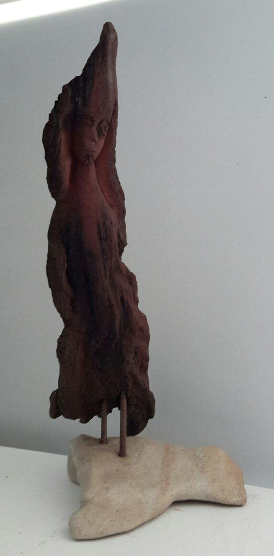 Spirit Figure   red cedar