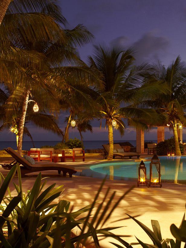 {Viceroy Riviera Maya} DIY Outdoor Projects Inspired by Boutique Hotels on HGTV.com