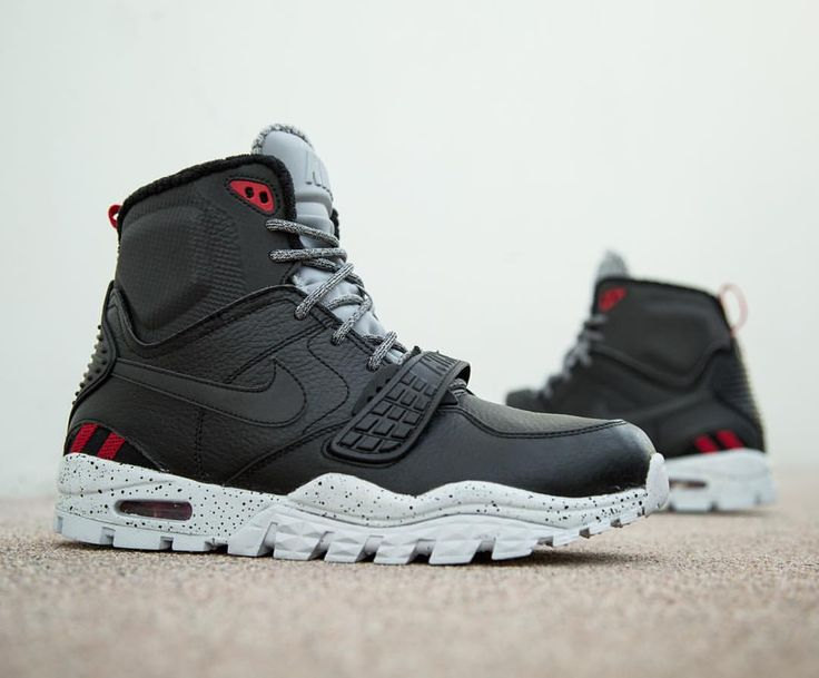 Nike Air Trainer SC 2 Boot: black/pure platinum/wolf grey · Men Running  ShoesNike ...