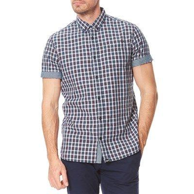 Prezzi e Sconti: #Kaporal troke17 camicia blu Uomo  ad Euro 59.00 in #Camicie maniche corte casual #Camicie