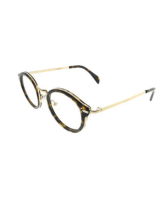 4cdf2f09d57 Take a look at this Gold Round Eyeglasses today!