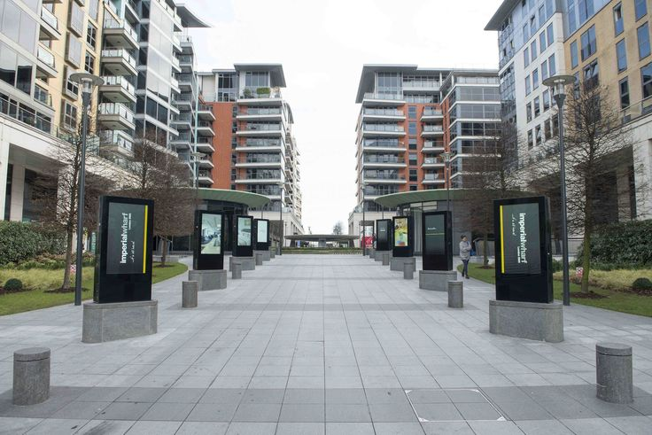 Imperial Wharf apartments entrance.  If you need any help around your property Melchior Gray is a London-based property maintenance company. We specialise in responsive maintenance, painting/decorating & small building projects. Call our team today on 020 7731 2100 www.mglondon.uk