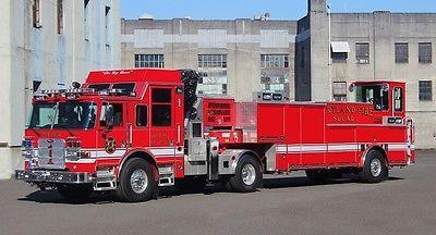 ◆Portland, OR FD Rescue 1 Pierce Tractor Drawn Rescue◆