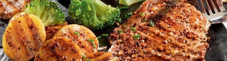 OPTIGRILL: Faux filets grillés de Montréal et pommes de terre