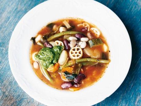 Bönans soppa med pistou Receptbild - Allt om Mat