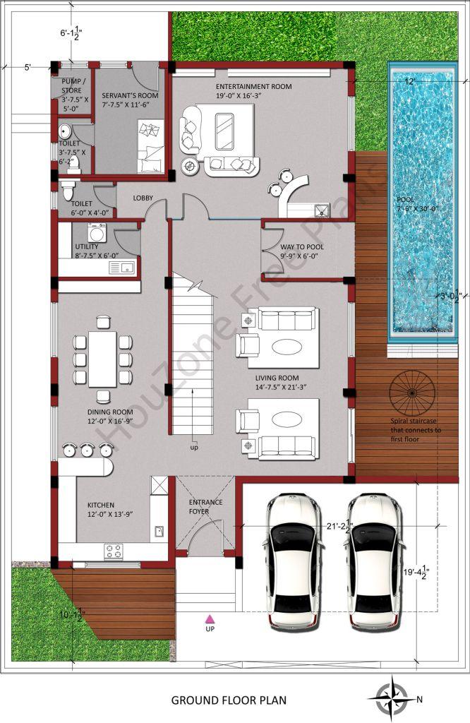 East Facing House Plan As Per Vastu 30x40 House Plans 30x50 House Plans Duplex House Plans Small house plan as per vastu