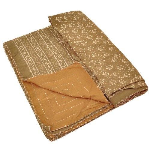 Amazon.com: Indian Fashion Decor Bed Cover Cotton Block Print: Home & Kitchen