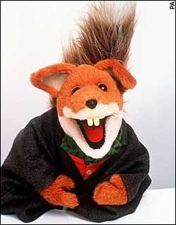 Basil Brush! Top entertainment........... Boom,Boom ....