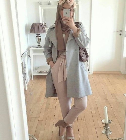 Great Ideas to Wear Hijab for Street Style Look Will Change Your Look Dramatically