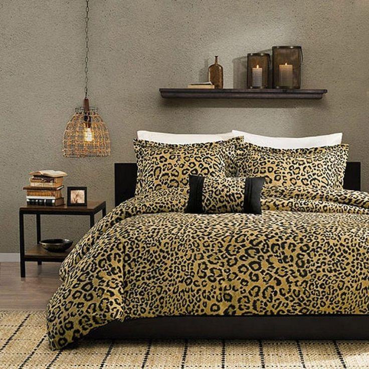 Stylish Cheetah Bedroom  -   #cheetahbedroomdecor #cheetahbedroomdesignideas #cheetahbedroomsets #cheetahinspiredbedroom #cheetahprintbedroom