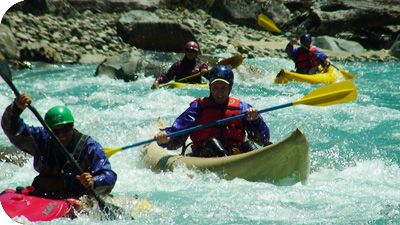 Whitewater Kayaking in Chile