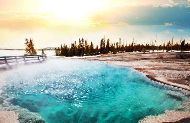Yellowstone National Park, established in 1872, is one of America's oldest and most beautiful national parks open to the public. The park.