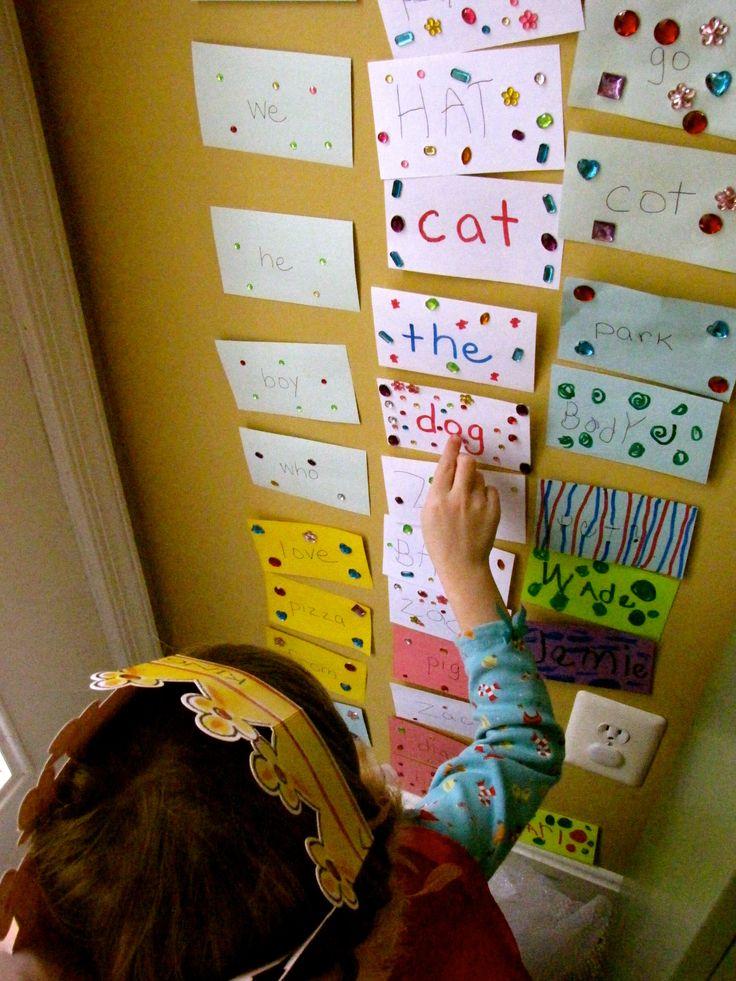 Teaching my kindergartener to read