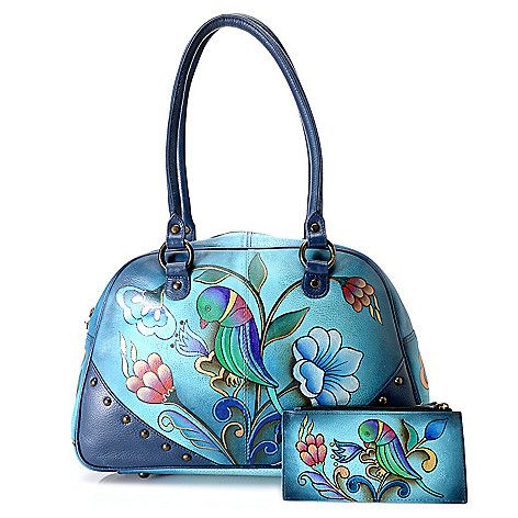 192 best Anuschka Hand Painted Purses images on Pinterest Hand