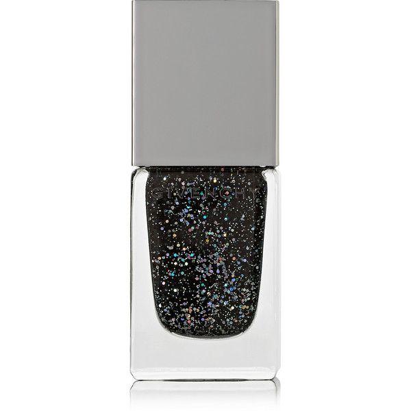 Givenchy Beauty Nail Polish - Folie Scintillante (27 CAD) ❤ liked on Polyvore featuring beauty products, nail care, nail polish, nails, beauty, makeup, fillers, black, sheer nail polish and sparkle nail polish