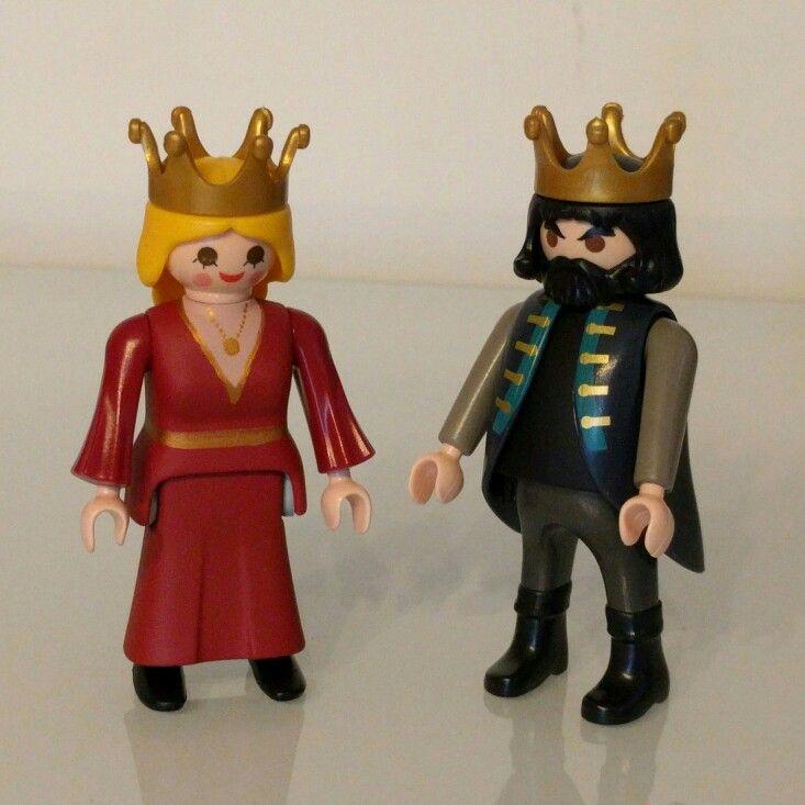 Custom Playmobil King Robert & Cersei Lannister, Game of Thrones