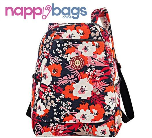 Byron Floral Print Travel Baby Nappy Diaper Backpack //Price: $48.28 & FREE Shipping //     #nappybags