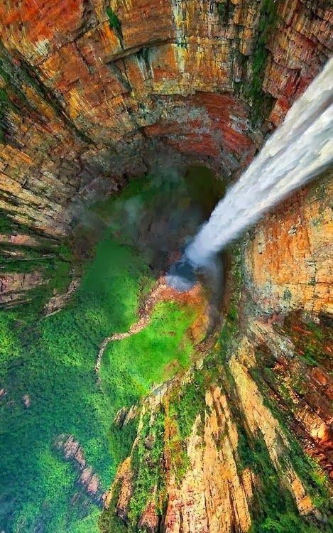 Angel Falls, Venezuela.: Angel Falls, Waterfalls, Nature, South America, Beautiful, Places, Travel