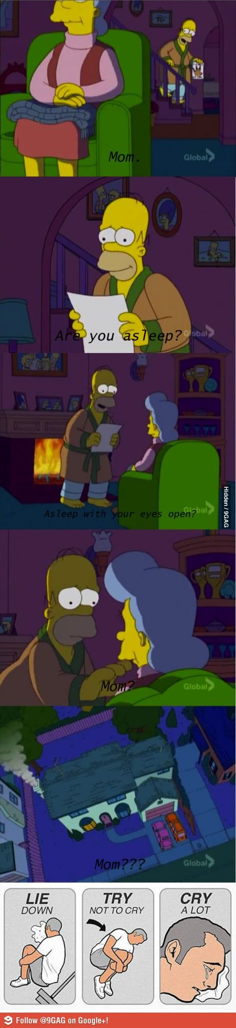 One of the saddest moments of the Simpsons, especially impressive for as late as season 19.