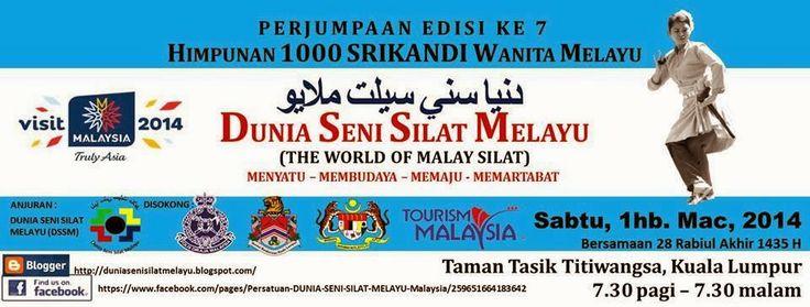Dunia Seni Silat Melayu - Himpunan 1000 Srikandi Wanita Melayu