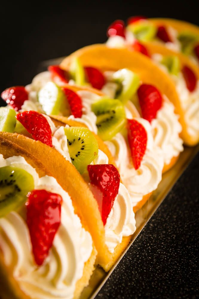 Dessert Fruit Tacos