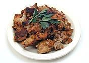 How to make a baked stuffing instead of in the turkey