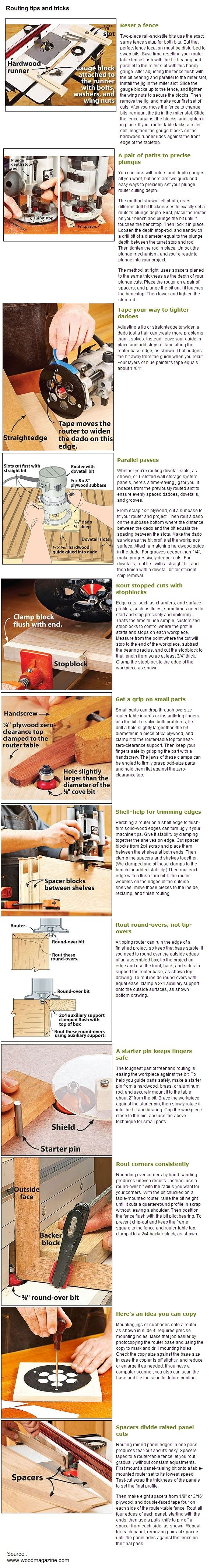 12 Routing tips and tricks   WoodworkerZ.com