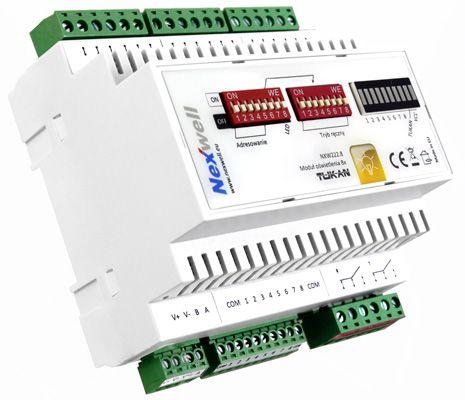 NXW222.8 - LIGHTING CONTROLLER 8X (NO DIMMER) TUKAN XT DIN