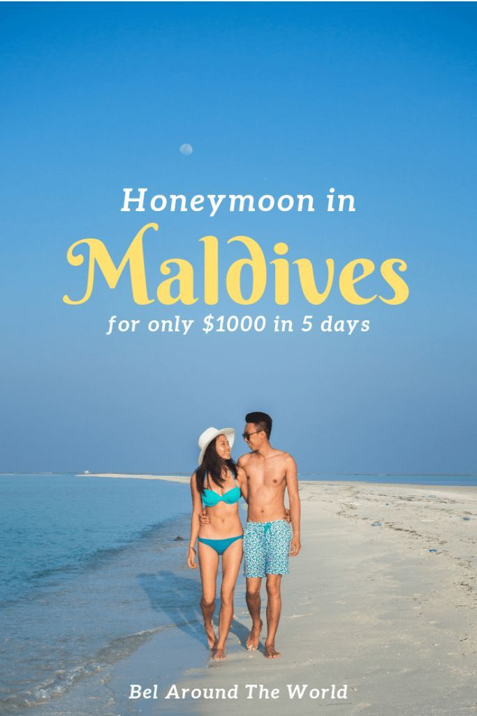 Maldives On A Budget I Spent Less Than 1000 On My 5d5n