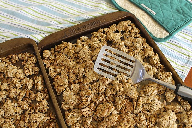 Chunky Homemade Granola... I've made lots of granola recipes over the years, but this recipe remains my hands-down favorite!
