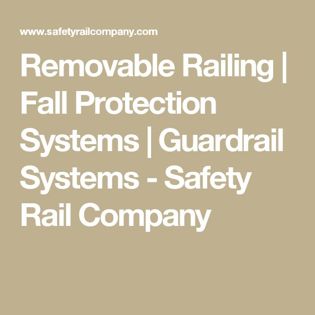Best Removable Railing Fall Protection Systems Guardrail 640 x 480