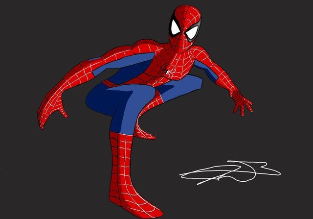 Spider Man The New Animated Series Fan Art Spiderman Spiderman Fan Art Animation Series