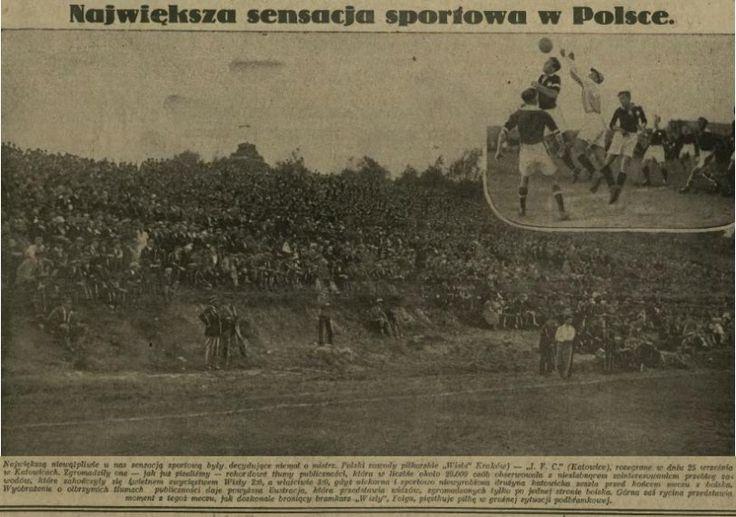 1927.10.04 1.FC Katowice - Wisła Kraków