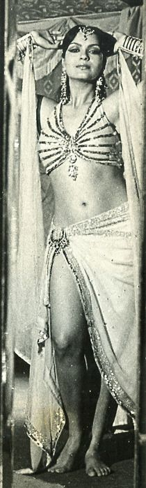Zeenat Aman who broke all the rules of how a Bollywood actress should dress. She is also the first one who brought the term sexy to Bollywood movies. Best known for her role in Satyam Shivam Sundaram 1978