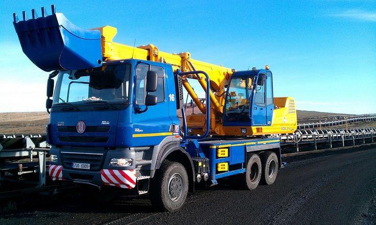 Tatra T158-6×6 excavator