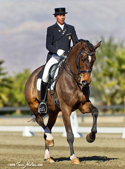 Steffen Peters and Legolas. So, a horse named Legolas ...