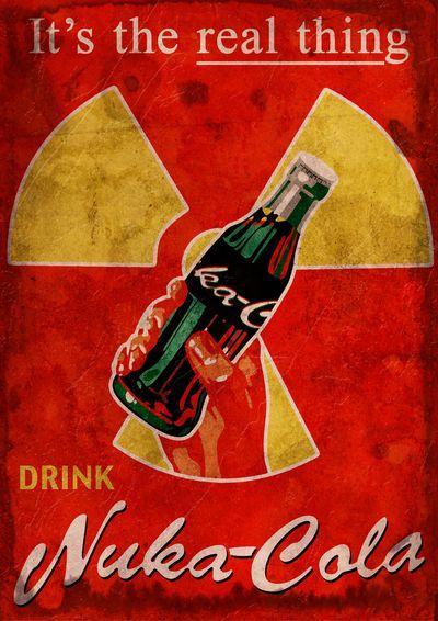 Nuka Cola poster by *SkeletonJack666