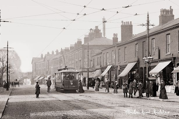 In pictures: Historical images show how Curry Mile in Rusholme used to look - Manchester Evening News